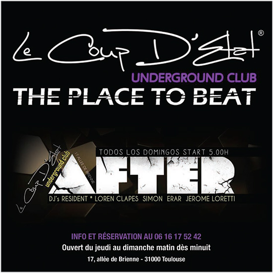 AFTER - The Place To Beat